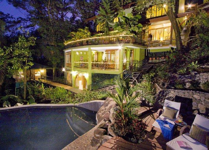 Multi level, ocean view, jungle mansion with 3 seperate waterfall pools - Casa de Las Brisas-Tropical Luxury Ocean View Home MA01 - Manuel Antonio National Park - rentals