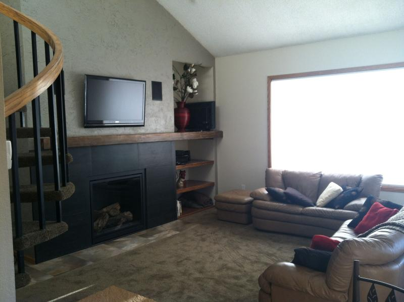 Living Room - Snowblaze, 3 bedroom, 3 bath with athletic club - Winter Park - rentals