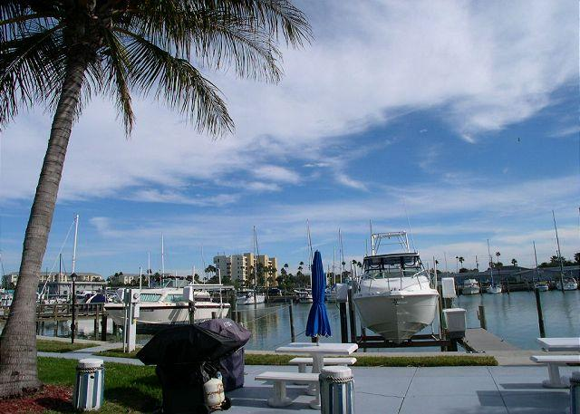 View from the Patio! - Madeira Beach Yacht Club 175-D Beautifully Remodeled Waterfront - Madeira Beach - rentals