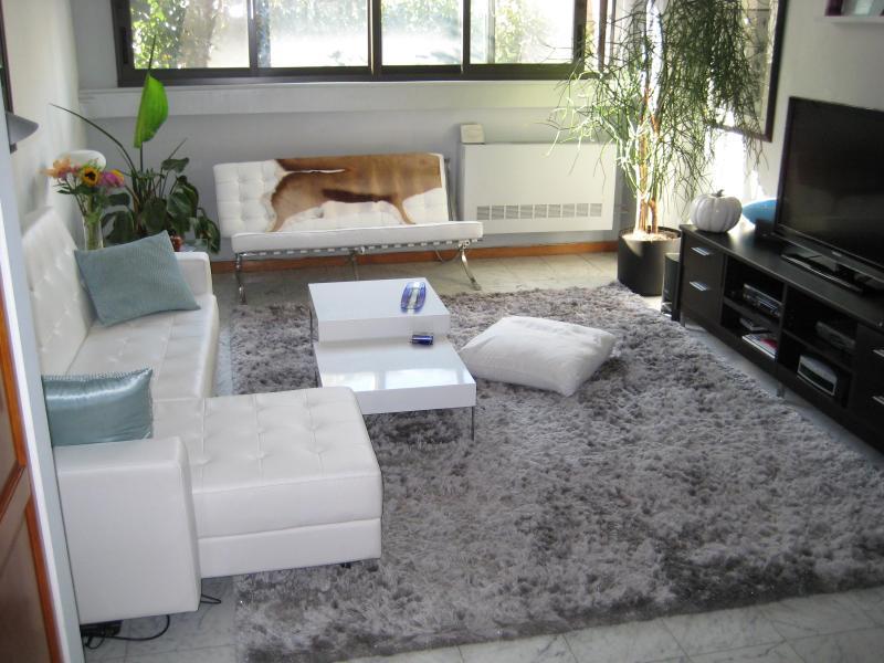 Living Room - Meat Packing - Huge 2BR/2BA - Fireplace & Deck - New York City - rentals
