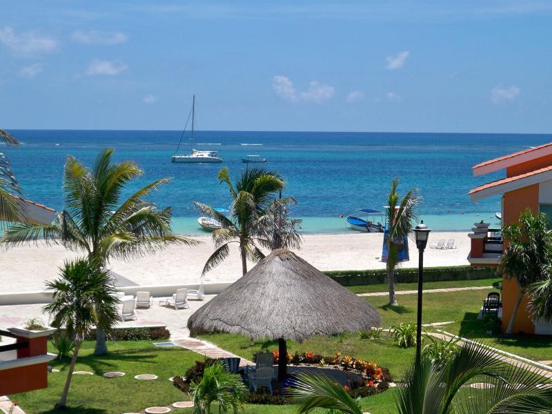 Our Caribbean Sea view - Delightful two bedroom beach condo close to town - Puerto Morelos - rentals