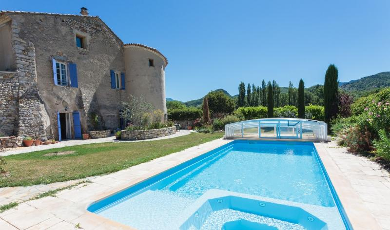 House and Pool - Chateau Colombier, Drome Provencale, France - Condorcet - rentals