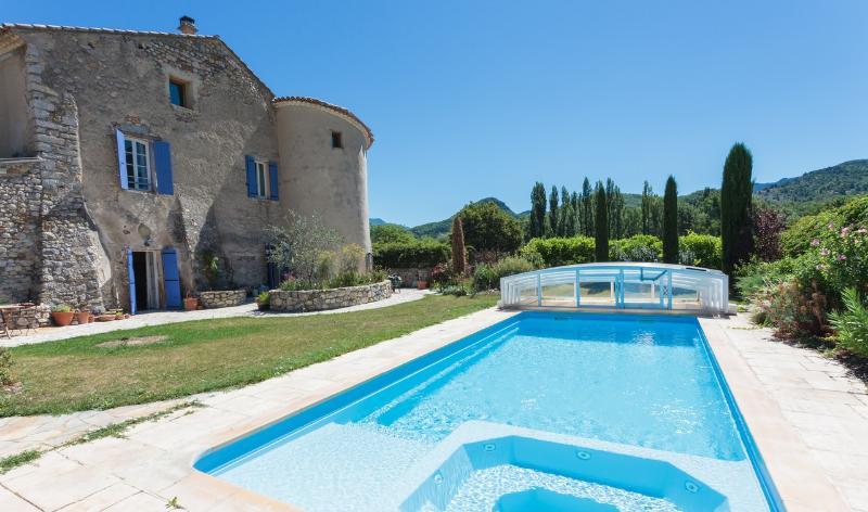 House and Pool - Chateau Colombier, Drome Provencale, France - Condorcet - rentals