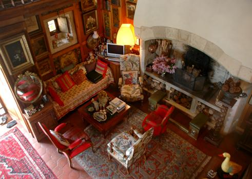 The interior is as beautiful as the exterior and the living room has a huge working fireplace - Muzac - by Holidays France Rentals - Levallois-Perret - rentals