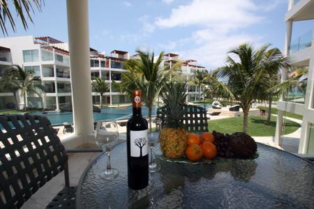 Dine Alfresco on Your Private Terrace - Caribbean Beach Rental with Beach Club - Caracol - Playa del Carmen - rentals