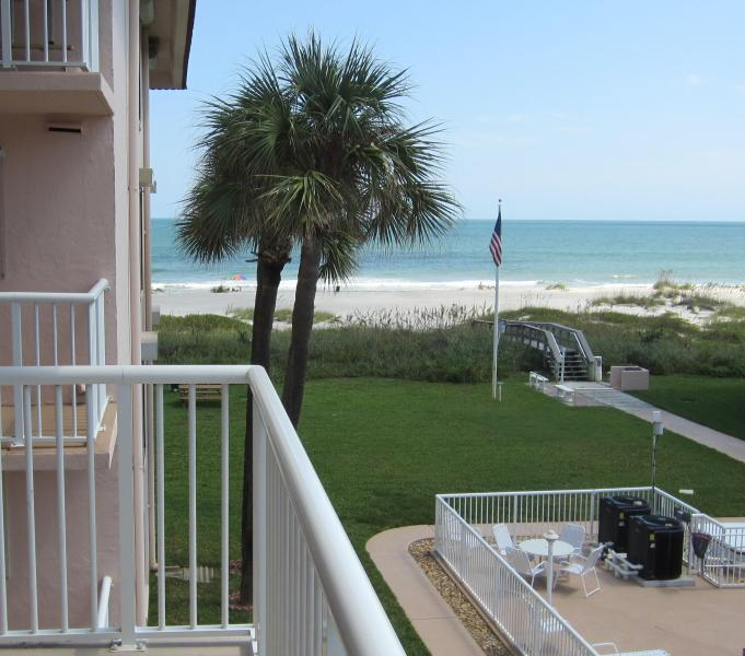 """View from the Balcony - ** Spacious 3 Bedroom on Beach! 4 x 50"""" LCD TV's * - Cocoa Beach - rentals"""
