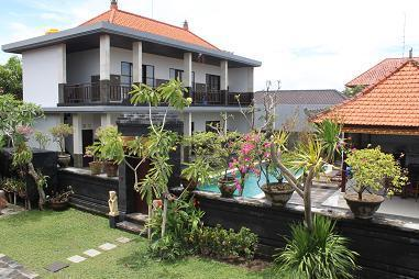 view garden en parking - STUNNING 6 BEDROOM VILLA (13 PERS) IN TOP LOCATION ! - Seminyak - rentals