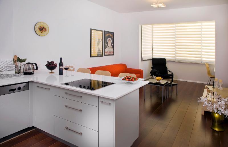 STAR - CHIC!  2 bedroom off trendy Basel Sq. - Image 1 - Tel Aviv - rentals