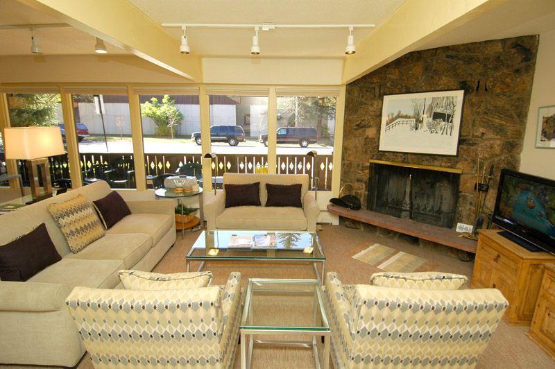living_area_1.jpg - Hoguet Residence Lower Level - Aspen - rentals