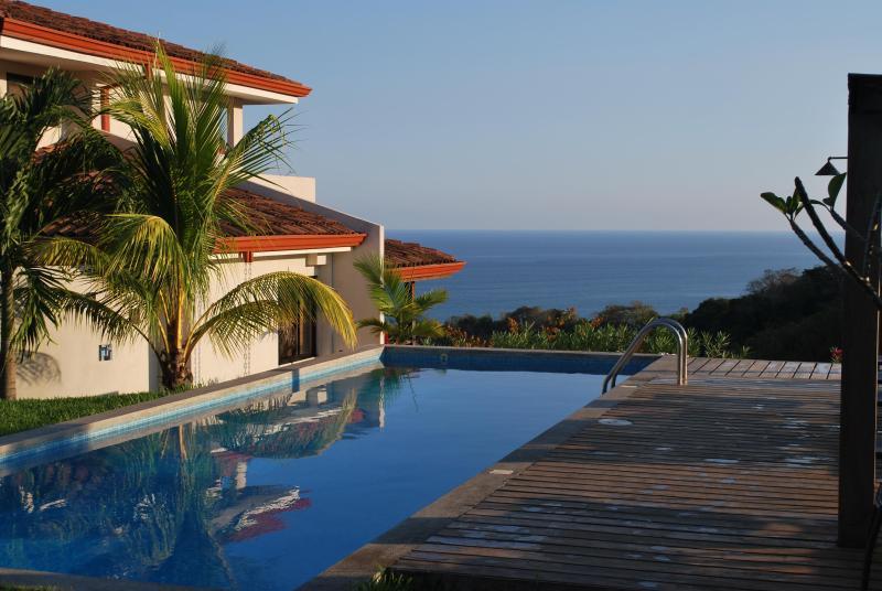 Pool at Casa Frangipani - Casa Frangipani, Spectacular Ocean View Villa - Montezuma - rentals