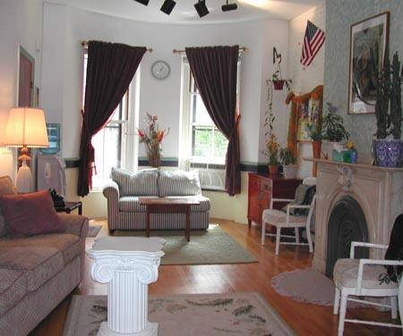 Living room - The Apple of Boston (M317-P) - Boston - rentals