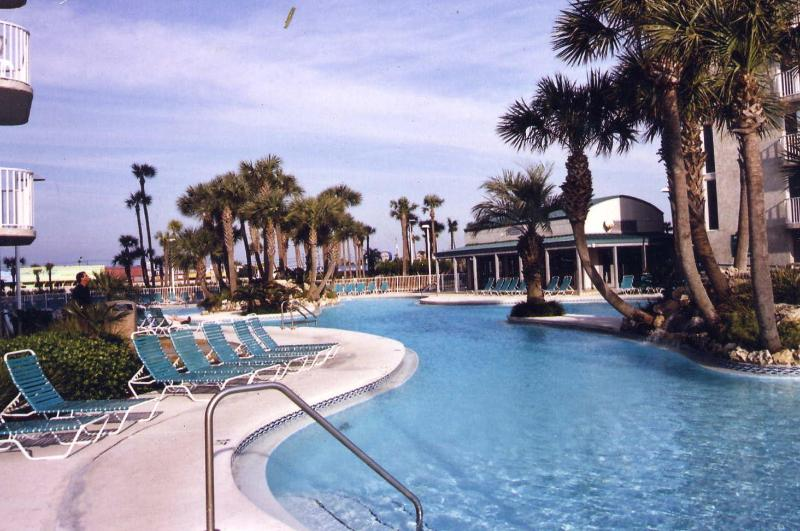 Lagoon Pool - Beautiful Sunsets on the Gulf of Mexico - Panama City Beach - rentals