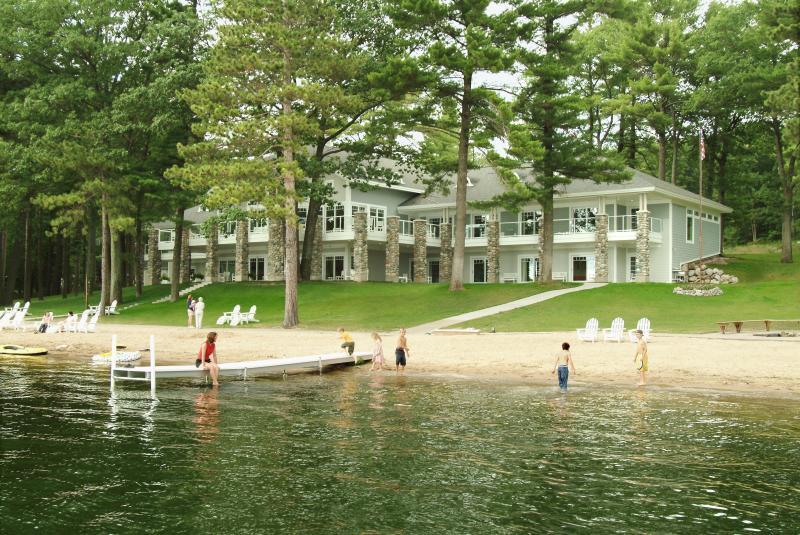 Property from Lake - Spider Lake Retreat - Traverse City - rentals