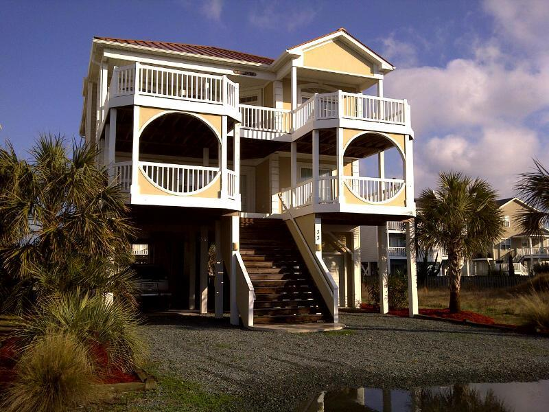 5BR OceanView - heated pool, game room & bikes!! - Image 1 - Ocean Isle Beach - rentals