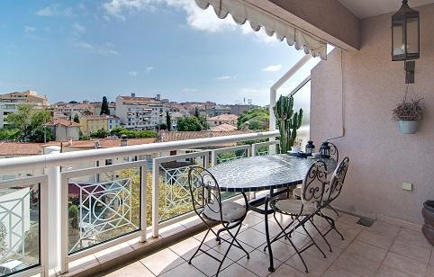 Lovely balcony - Antibes Romantic Apartment with Great View from the Balcony - Antibes - rentals