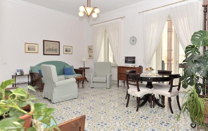 the living room - Calata Ponte - Elegant and bright apartment - Minori - rentals