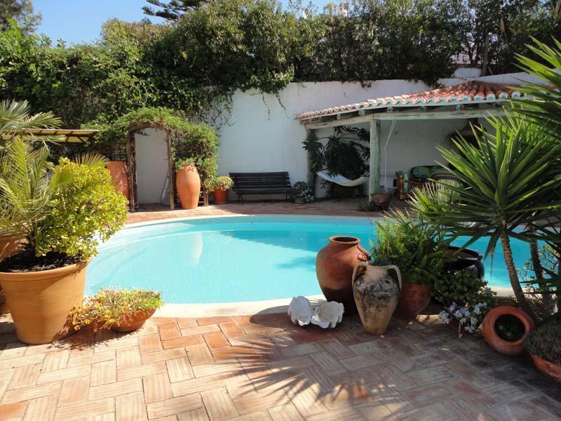 pool terrace - CASA LIMAO, beautiful apartment with pool. - Carvoeiro - rentals
