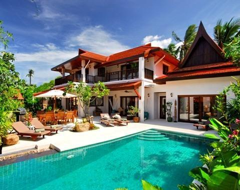 Baan Lotus Luxury 4 bedroom villa - 4 Bedroomed Luxury Beach Villa - Lamai Beach - rentals