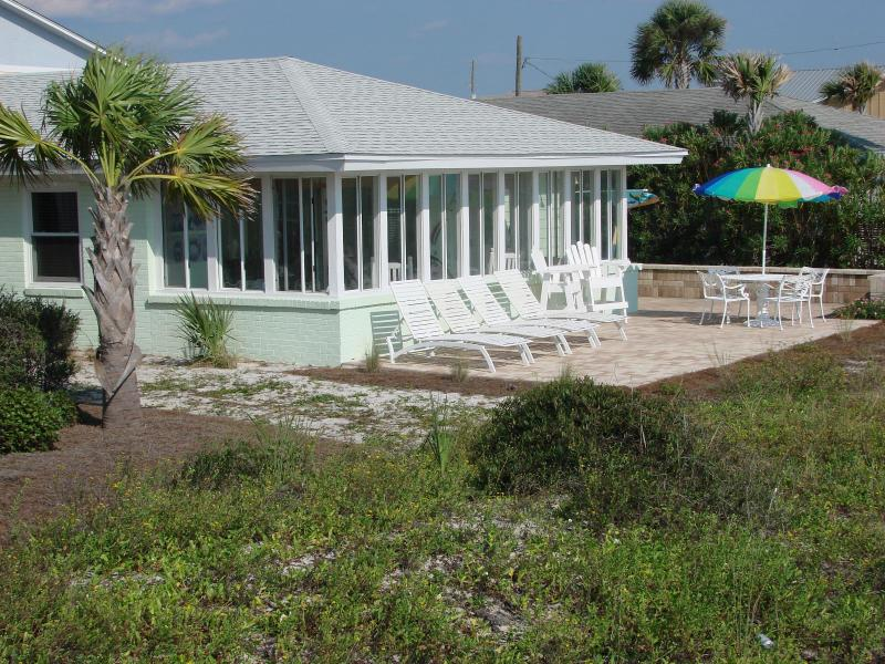 Beach side of The Beach House - Beautiful Nov & Dec at the beach! - Mexico Beach - rentals