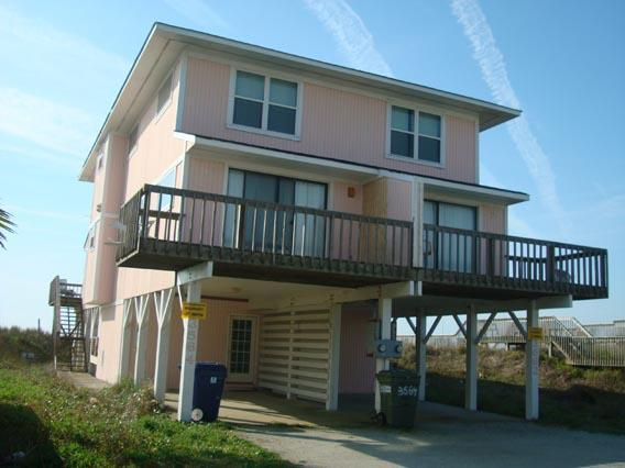 Exterior - Beach Blessing- North, 3564 Island Dr, North Topsail Beach, NC - North Topsail Beach - rentals