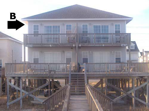 Exterior - Bookhardt South 3804 Island Dr. - North Topsail Beach - rentals