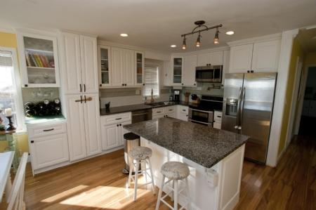 Freshly Renovated Kitchen Area - Beach Retreat, 3808 Island Dr - North Topsail Beach - rentals
