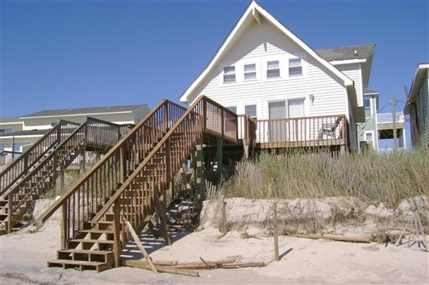 Exterior - Dune Nothing 200 Ernest Drive North Topsail Beach, NC - North Topsail Beach - rentals