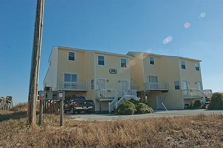 Front Exterior of Yacht Tender - Yacht Tender, 2982 Island Dr, SAVE UP TO $150!!! - North Topsail Beach - rentals