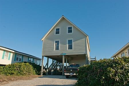 Front Exterior - Perfect Perscription, 1336 S. Shore Dr. Surf City, NC - Surf City - rentals