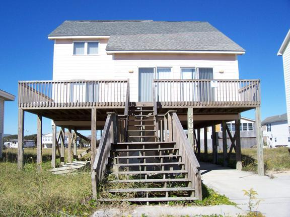 Exterior - By the Sea, 2005 N. Shore Dr. - Surf City - rentals