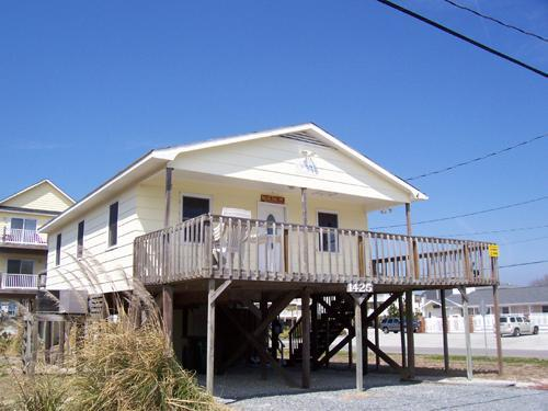 Exterior - Conched Out, 1425 N. Tospail Dr. Surf City, Nc - Surf City - rentals
