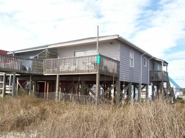 Exterior - Island Delights II, 318 B North Shore Drive, - Surf City - rentals
