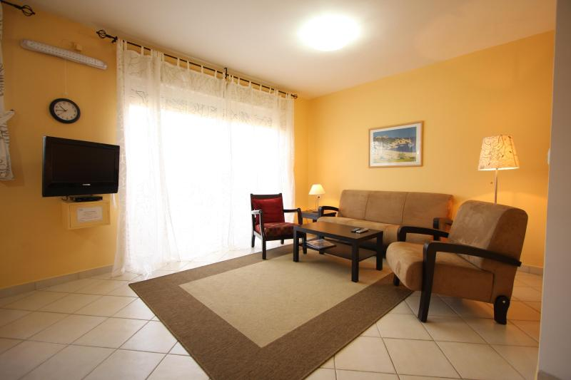 Living Room - ONE minute walk from the Beach @ Herzelia Pituach! - Herzlia - rentals