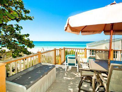 Deck - Beachcomber-3020 Ave F - Holmes Beach - rentals