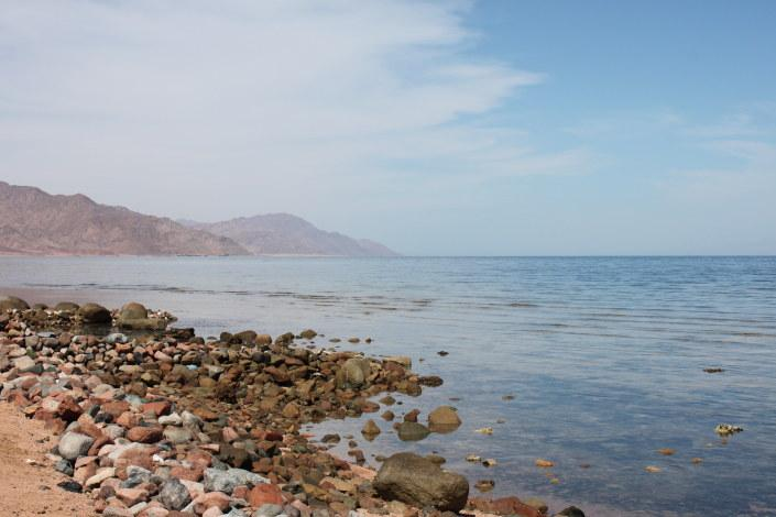 Beach front view from apartment - Blue Beach Club Apartment - Dahab - rentals