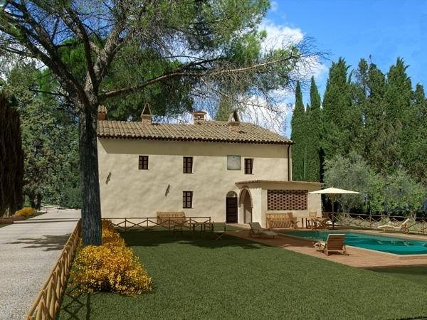 Santo Estate - Villa preciosa Large  italian villa to rent  near Siena - Tuscany - Image 1 - Siena - rentals
