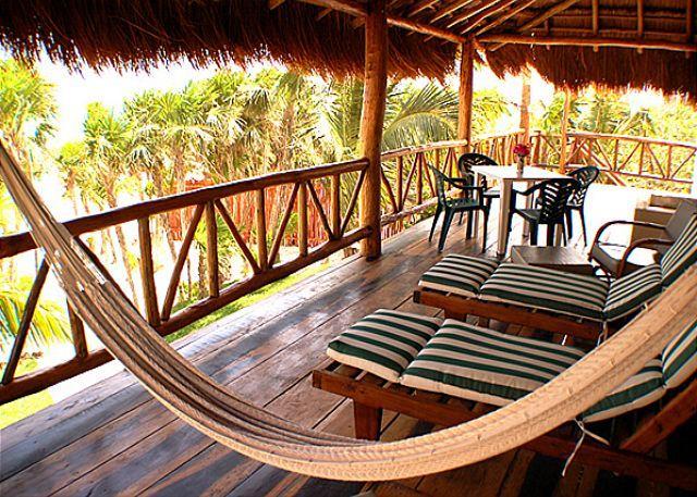 Verandah - Casa Yamulkan - Soliman Bay - rentals