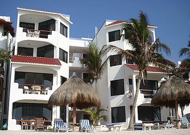 Beachside Exterior, Luna Azul - Luna Azul Penthouse - World - rentals