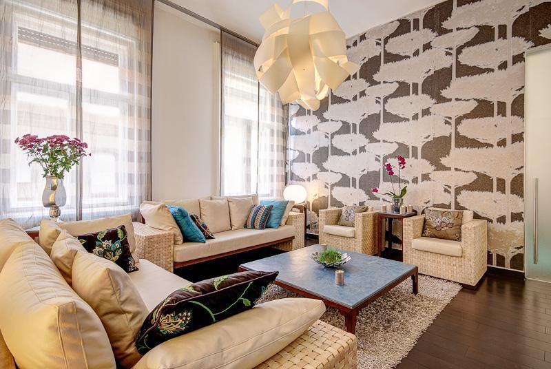 Opera luxury apartment 115sqm 2br A/C wifi - Image 1 - Budapest - rentals