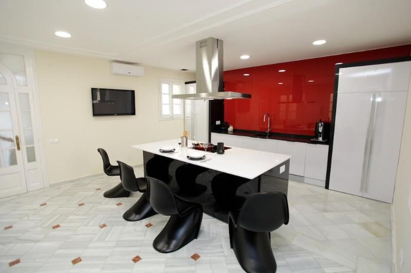 Stunning kitchen - 5BR Paseo de Gràcia Red Carpet - Image 1 - Barcelona - rentals