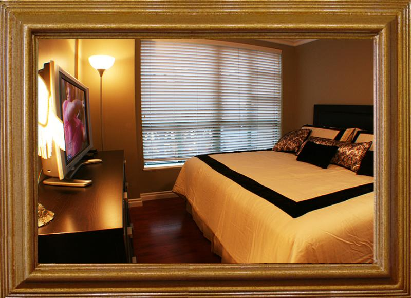 Bedroom - 1BR-Yaletown: Solarium,Office,pool,sauna,Jacuzzi 3 - Vancouver - rentals
