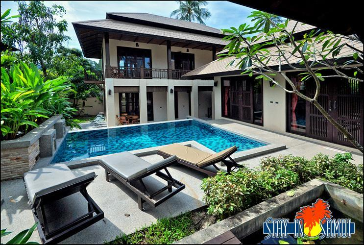 villa and pool - beautiful private villa in 'Kirikayan' resort - Mae Nam - rentals
