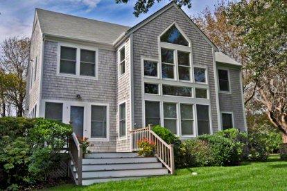 CLASSIC EDGARTOWN VILLAGE CONTEMPORARY WITH WATER VIEWS - EDG RANG-07 - Image 1 - Edgartown - rentals