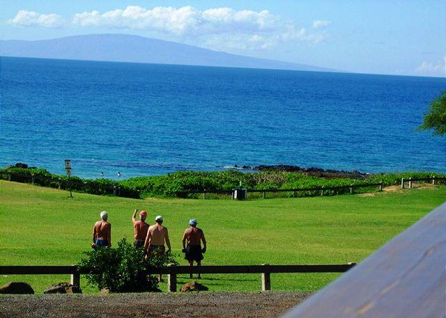View from lanai - Hale Kamaole 2 Bd 2 Bath Steps From Kamaole Beach #3 Great Rates Sleeps 6 - Kihei - rentals