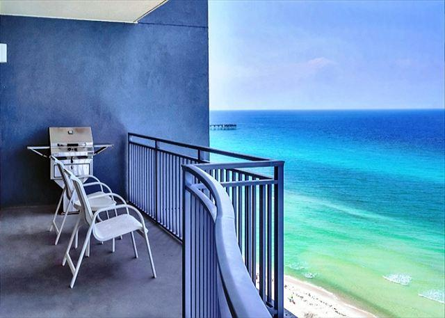 Beachfront and Great Views, Sleeps 8, Open Week of 3/21 - Image 1 - Panama City Beach - rentals