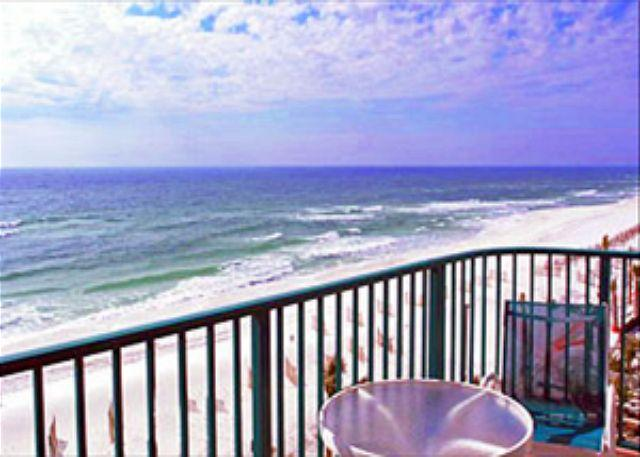 Balcony View - BEACHFRONT FOR 6! OPEN 6/6-13! NOW 20% OFF! - Destin - rentals