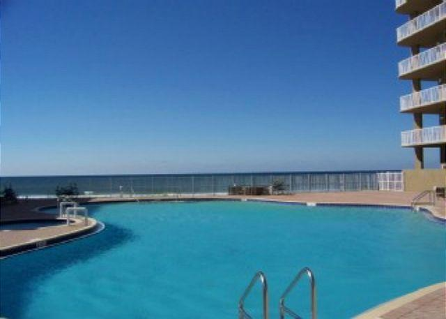 Resort Pool & Gulf - Gulf Front for 6 with Spectacular Views - Panama City Beach - rentals