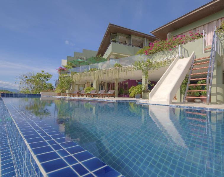 Pool Level facing north - Samui Summit Estate - 180 Seaview Pool Villa - Choeng Mon - rentals