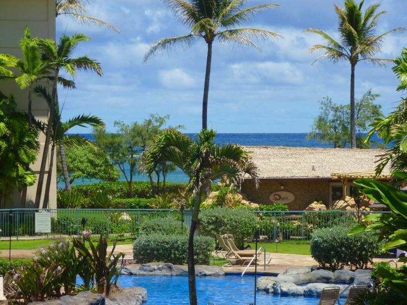 Ocean & Pool View from F204 - Luxury Pool & Ocean View Condo on Kauai! - Kapaa - rentals