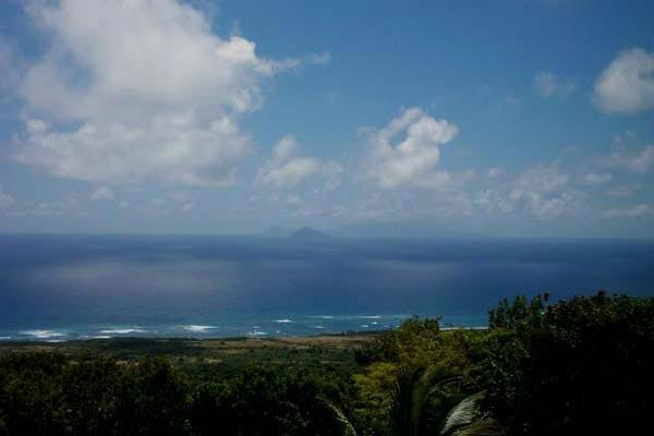 Enjoy the view of Antigua and the ocean from this volcanic rock villa. KL FRY - Image 1 - Saint Kitts and Nevis - rentals